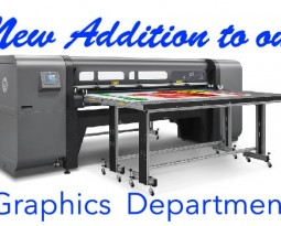 New Addition to our Graphics Department